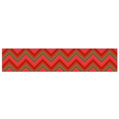 Background Retro Red Zigzag Flano Scarf (small)