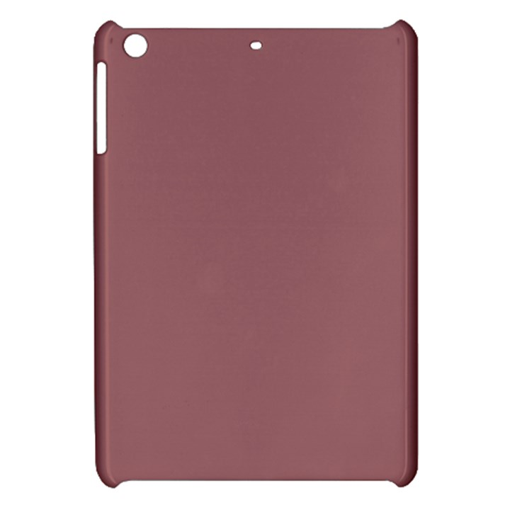 Blush Gold Coppery Pink Solid Color Apple iPad Mini Hardshell Case