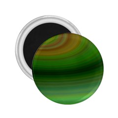 Green Background Elliptical 2 25  Magnets