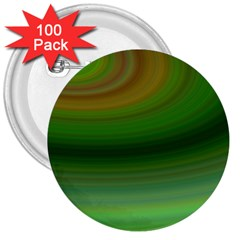 Green Background Elliptical 3  Buttons (100 Pack)
