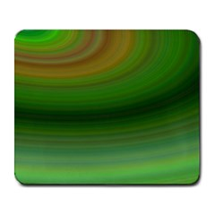 Green Background Elliptical Large Mousepads