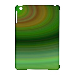 Green Background Elliptical Apple Ipad Mini Hardshell Case (compatible With Smart Cover)