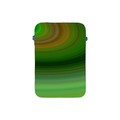 Green Background Elliptical Apple Ipad Mini Protective Soft Cases