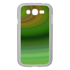 Green Background Elliptical Samsung Galaxy Grand Duos I9082 Case (white)