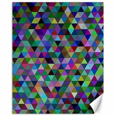 Triangle Tile Mosaic Pattern Canvas 16  X 20
