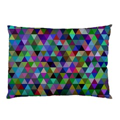 Triangle Tile Mosaic Pattern Pillow Case