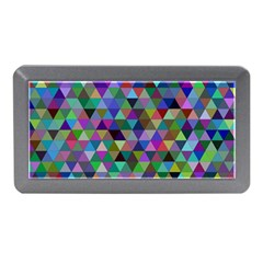 Triangle Tile Mosaic Pattern Memory Card Reader (mini)