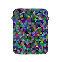Triangle Tile Mosaic Pattern Apple Ipad 2/3/4 Protective Soft Cases