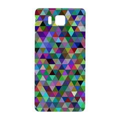 Triangle Tile Mosaic Pattern Samsung Galaxy Alpha Hardshell Back Case