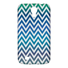 Blue Zig Zag Chevron Classic Pattern Samsung Galaxy Mega 6 3  I9200 Hardshell Case