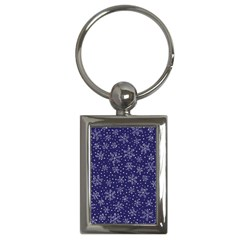 Pattern Circle Multi Color Key Chains (rectangle)