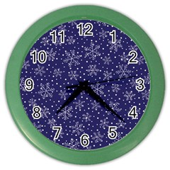 Pattern Circle Multi Color Color Wall Clocks