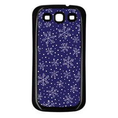 Pattern Circle Multi Color Samsung Galaxy S3 Back Case (black)