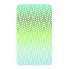 Green Line Zigzag Pattern Chevron Memory Card Reader