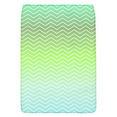 Green Line Zigzag Pattern Chevron Flap Covers (s)