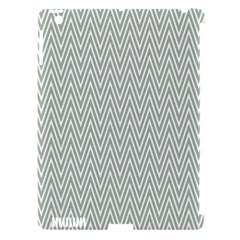 Vintage Pattern Chevron Apple Ipad 3/4 Hardshell Case (compatible With Smart Cover)