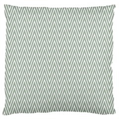 Vintage Pattern Chevron Large Cushion Case (two Sides)