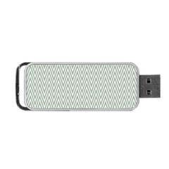 Vintage Pattern Chevron Portable Usb Flash (two Sides)