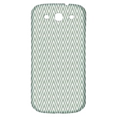 Vintage Pattern Chevron Samsung Galaxy S3 S Iii Classic Hardshell Back Case