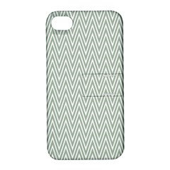 Vintage Pattern Chevron Apple Iphone 4/4s Hardshell Case With Stand