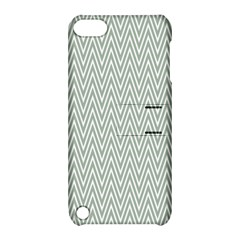Vintage Pattern Chevron Apple Ipod Touch 5 Hardshell Case With Stand