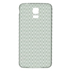 Vintage Pattern Chevron Samsung Galaxy S5 Back Case (white)