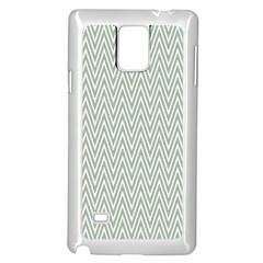 Vintage Pattern Chevron Samsung Galaxy Note 4 Case (white)