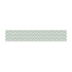 Vintage Pattern Chevron Flano Scarf (mini)