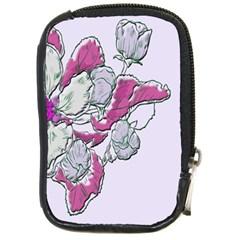 Bouquet Flowers Plant Purple Compact Camera Cases