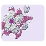 Bouquet Flowers Plant Purple Double Sided Flano Blanket (Small)  50 x40 Blanket Back