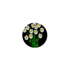 Bouquet Geese Flower Plant Blossom 1  Mini Magnets