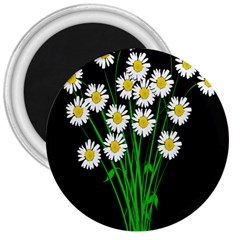 Bouquet Geese Flower Plant Blossom 3  Magnets