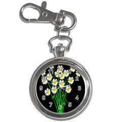 Bouquet Geese Flower Plant Blossom Key Chain Watches