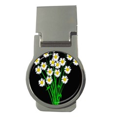 Bouquet Geese Flower Plant Blossom Money Clips (round)