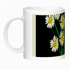 Bouquet Geese Flower Plant Blossom Night Luminous Mugs