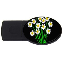 Bouquet Geese Flower Plant Blossom Usb Flash Drive Oval (4 Gb)