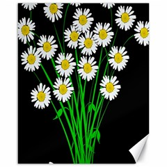 Bouquet Geese Flower Plant Blossom Canvas 16  X 20