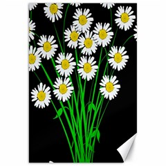 Bouquet Geese Flower Plant Blossom Canvas 20  X 30