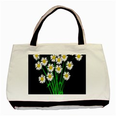 Bouquet Geese Flower Plant Blossom Basic Tote Bag (two Sides)