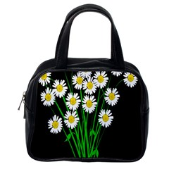 Bouquet Geese Flower Plant Blossom Classic Handbags (one Side)