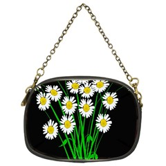 Bouquet Geese Flower Plant Blossom Chain Purses (one Side)