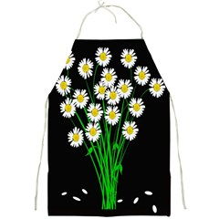 Bouquet Geese Flower Plant Blossom Full Print Aprons