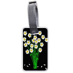 Bouquet Geese Flower Plant Blossom Luggage Tags (one Side)