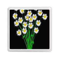 Bouquet Geese Flower Plant Blossom Memory Card Reader (square)