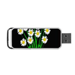 Bouquet Geese Flower Plant Blossom Portable Usb Flash (two Sides)