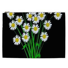 Bouquet Geese Flower Plant Blossom Cosmetic Bag (xxl)