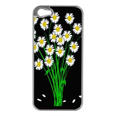 Bouquet Geese Flower Plant Blossom Apple Iphone 5 Case (silver)