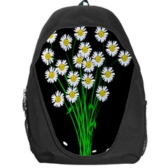 Bouquet Geese Flower Plant Blossom Backpack Bag