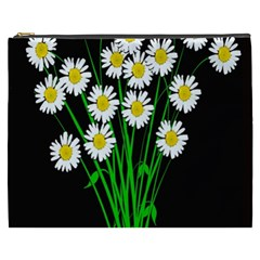 Bouquet Geese Flower Plant Blossom Cosmetic Bag (xxxl)