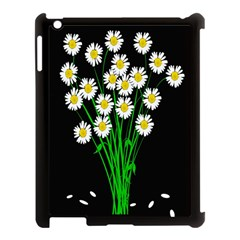 Bouquet Geese Flower Plant Blossom Apple Ipad 3/4 Case (black)
